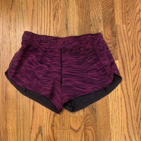 lululemon athletica Pants - Lululemon REVERSIBLE Shorts Charcoal Gray reversin